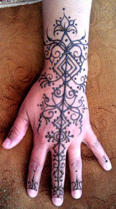 Starlit Skies Henna