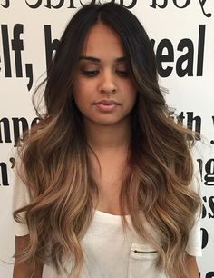 56 Ideas makeup colorful balayage highlights for 2019 Brown Hair Balayage, Brown Hair With Highlights, Hair Color Balayage, Blonde Balayage, Balayage Highlights, Bayalage, Hair Color For Brown Skin, Haircolor, Cabelo Ombre Hair