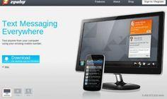 ZipWhip, envia mensajes desde el navegador utilizando tu numero de telefono