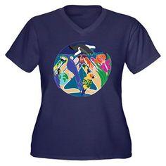 Tropical Creation Plus Size T-Shirt