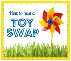 How to Host a Toy Swap