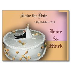 ==>>Big Save on          Save the Date wedding cake postcard           Save the Date wedding cake postcard so please read the important details before your purchasing anyway here is the best buyDiscount Deals          Save the Date wedding cake postcard today easy to Shops & Purchase Online...Cleck Hot Deals >>> http://www.zazzle.com/save_the_date_wedding_cake_postcard-239602437684900274?rf=238627982471231924&zbar=1&tc=terrest