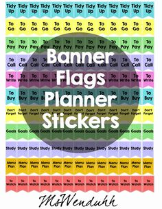 Free Little Banner Flags | MsWenduhh Planning & Printing