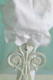 A Triple Ruffle Bonnet From Martha S Attic Beautiful Blog Bonnets Beautiful