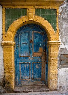 Blue Door -- Morocco: Photo by Photographer Amitai Schwartz - photo.net