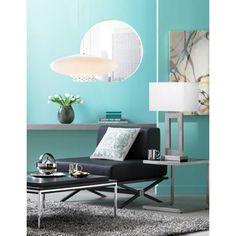 Zuo Modern Xert Modular Black Lounge Chair - #V7541 | LampsPlus.com
