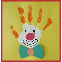 Handprint - Clown