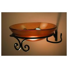 Decorative Wrought Iron Wall Mount Bracket from Decolav