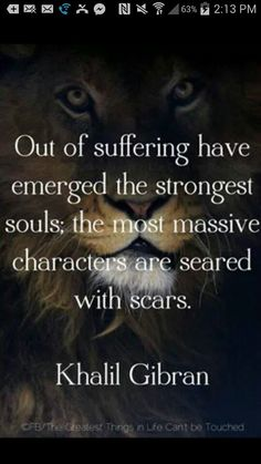 Suffering emerge, strongest Souls, massive character, scares