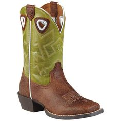 Ariat Kid's Charger Western Boots