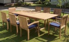 Like the expandable teak outdoor table