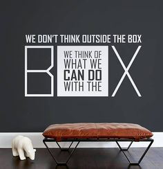 Wall decal Wall Stickers Wall Quotes Office decal Quote