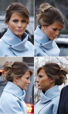 46 Best Melania Trump Hair Images In 2017 First Lady Melania Trump