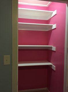 Craft Closet/Closet Remodel/City Girl is a Country Girl at Heart!