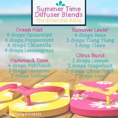 I would love for you to comment below with Summer Time Diffuser Recipes you enjoy at your house. Happy oiling!