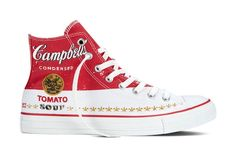 #Converse Releases New Sneaker Designs Featuring Andy #Warhol's Artworks - DesignTAXI.com