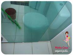 Como tirar a gordura do box do banheiro – Minha Casa Organizada Lava, Diy Cleaning Products, E Design, Bathtub, Organization, Bathroom, Shower Cleaning, Toilet Cleaning Tips, Cleaning Supplies