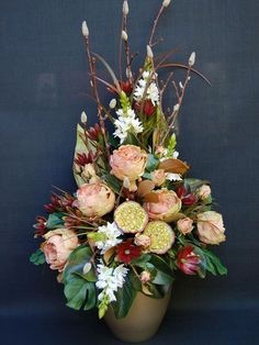 Rococo Floral Arrangements | Autumn Flower Guide