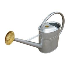 This watering can with 2 gallon capacity has been hot dipped galvanized to resist rust. Vegetable Farming, Watering Can, Water Garden, Homesteading, Rust, Canning, Water Gardens, Home Canning, Conservation