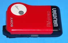 Sony FM Walkman Stereo Red in Consumer Electronics, Portable Audio & Headphones, Portable AM/FM Radios | eBay