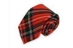 High Cotton | Royal Stewart Tartan Necktie