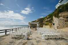 Wedding Cerimony just by the sea at Arriba #casadomarques #catering #wedding #cerimony #venue #guincho #cascais #sea #atlantic