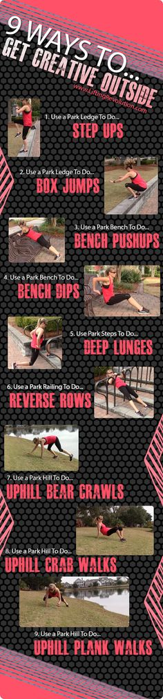 Exercises For Outdoor Workouts To Improve Happiness from Lifting Revolution
