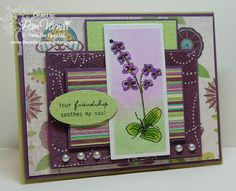 "There She Goes Clear Stamps: Wednesday Trends - ""Airbrushing"" Inside a Nestie WITHOUT the Copic Airbrush System"