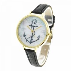 Female students vintage gold anchor dial thin pu leather band ladies quartz watches fashion style personality quiz #fashion #bug #bra #style #8304 #fashion #style #for #me #fashion #style #of #the #90s #t-ara #fashion #style