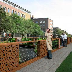 STREETLIFE Urban Green Bridge. The Urban Green Bridge is a combination of CorTen…
