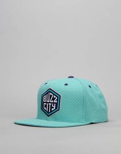 competitive price f05f7 4670b Mitchell   Ness NBA Charlotte Hornets Dotted Snapback Cap - Turquoise -  RouteOne.co.uk