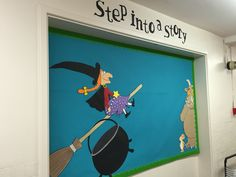 A Julia Donaldson inspired board for Step Into A Story