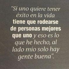 Lo dice nuestro alcalde @ficogutierrez_  y así deberíamos pensar todos, reconocer las capacidades del otro y por supuesto rodearnos de gente así! #creemos