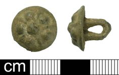 BH-DFF091: Medieval to post-Medieval button