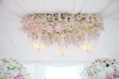 Hanging Wedding Decorations - Part 3 | bellethemagazine.com