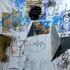 """Saatchi Art Artist Rusudan Khizanishvili; Painting, """"Under Construction"""" #art"""