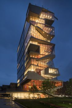 The Roy And Diana Vagelos Education Center, Nic LeHoux / Diller Scofidio +  Renfro,