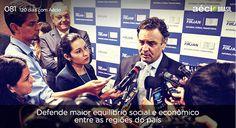 Não quero mais morar em um país com tanta desigualdade. #VamosMudarOBrasil #AecioNeves http://120diascomaecio.tumblr.com/