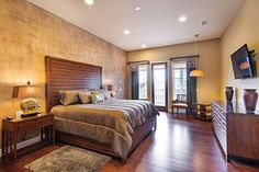Catch up on sleep and escape to your own private getaway in this master bedroom suite
