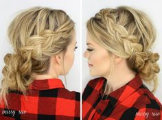 Bridal Hair Trend: Braids!: Loose Braided Updo