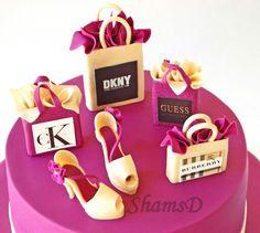 Shooping cake