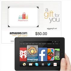 #Win our #Amazon Fire HD 7 Tablet + $50 Amazon Gift Card #giveaway http://www.prizeperch.com #prizeperch #join @prize_perch