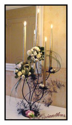 art floral bouquet cr ations florales de lisianthus guirlande florale mousse florale et. Black Bedroom Furniture Sets. Home Design Ideas