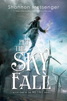 Let the Sky Fall - Shannon Messenger, redesign