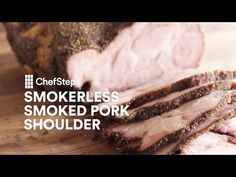 Smokerless Smoked Pork Shoulder - YouTube