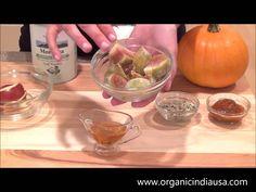 Make a Pumpkin Fig Smoothie with ORGANIC INDIA Moringa Powder