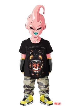 majin boo in givenchy and jordans