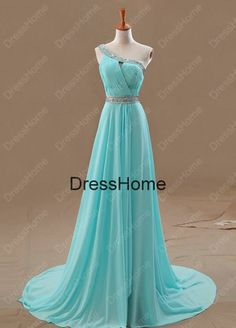 Hey, I found this really awesome Etsy listing at http://www.etsy.com/listing/169215901/one-shoulder-blue-prom-dress-blue-prom