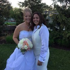 Congratulations Janelle and Jessica!   #hrcbweddings #2brides #hyattchesapeake