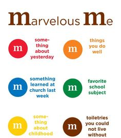 Marvelous M's Simple and yummy way for students to get to know ...